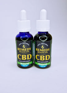 Remedy CBD Oil - Natural