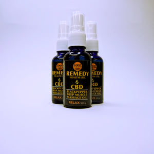 Relax Muscle Massage Oil 300mg