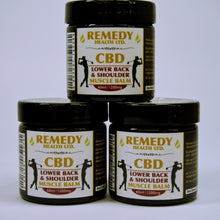 Load image into Gallery viewer, Lower Back and Shoulder CBD Balm 1200mg