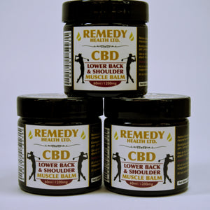 Lower Back and Shoulder CBD Balm 1200mg