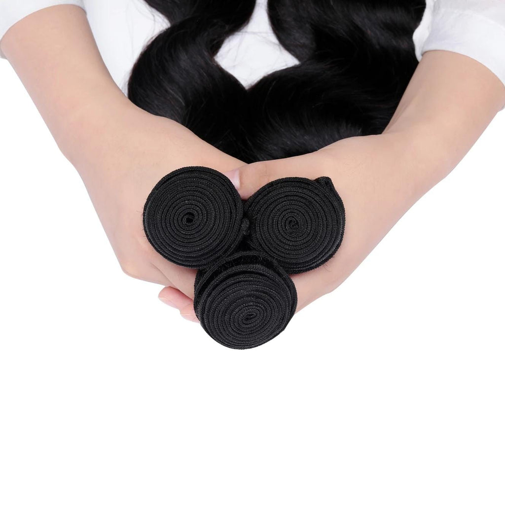 7A Human Hair Body Wave 3 Bundles - Fa fashion
