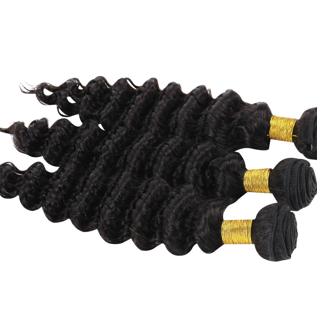 9A Grade Peruvian Virgin Hair Deep Wave - 3 Bundles
