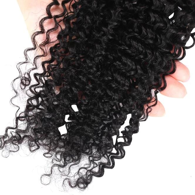 8A Grade Human Hair Kinky Curly- 3 Bundles