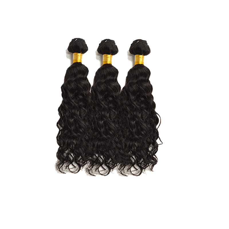 8A Grade Human Hair Water Wave 3 bundles