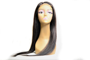 Natural Color Lace Closure Wig  4'' X 4'' - Straight