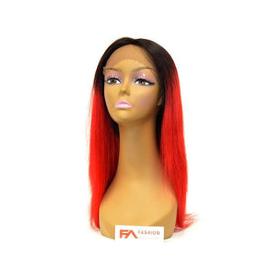 Fancy Lace Front Wig - T1B/RED