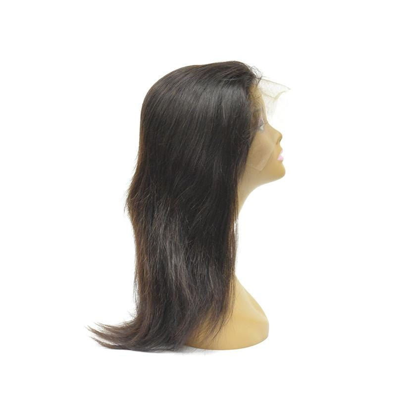 Natural Color Lace Frontal Wig  13'' X 4'' - Straight