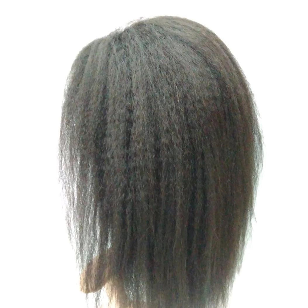 Natural Color Lace Frontal Wig 13'' X 6'' - Kinky Straight