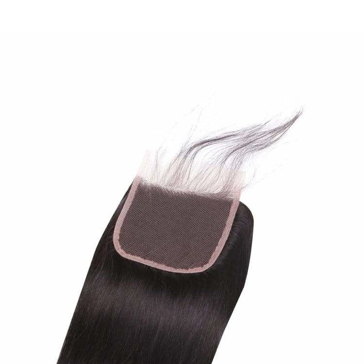 Pre-plucked Lace Closure 4'' x 4'' - Straight - Fa fashion