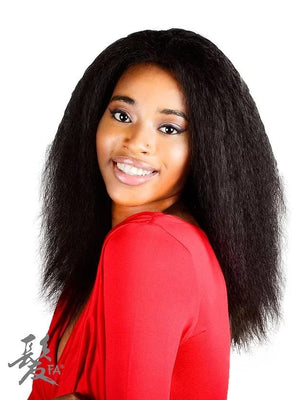 LUCY HUMAN, LACE FRONT, NATURAL WAVE. HAND MADE. 12""