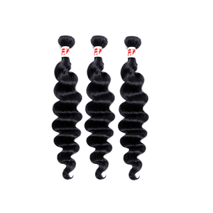 8A Grade Human Hair Loose Wave - 3 Bundles