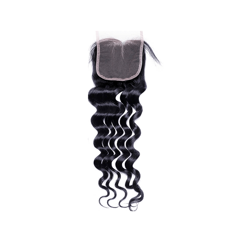 Pre-plucked Lace Closure 4'' x 4'' - Loose Wave