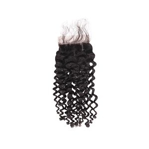 Pre-plucked Lace Closure 4'' x 4'' - Curly
