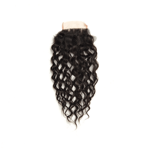 Pre-plucked Lace Closure 4'' x 4'' - Water Wave