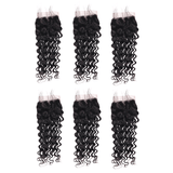 Wholesale Package 6 Piece Short Length Closure