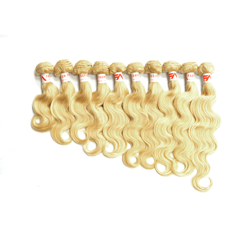 8a Grade brazilian Wholesale Package 10-Bundles Deals 613 Body Wave