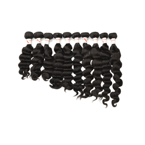 9A Grade Peruvian Wholesale Package 10-Bundles Deals Loose Wave