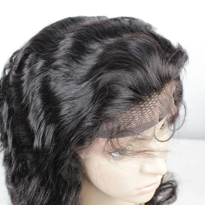 Full Lace Human Wig Body Wave - Pre-plucked - Fa fashion