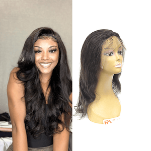 Natural Color Lace Frontal Wig - Body Wave