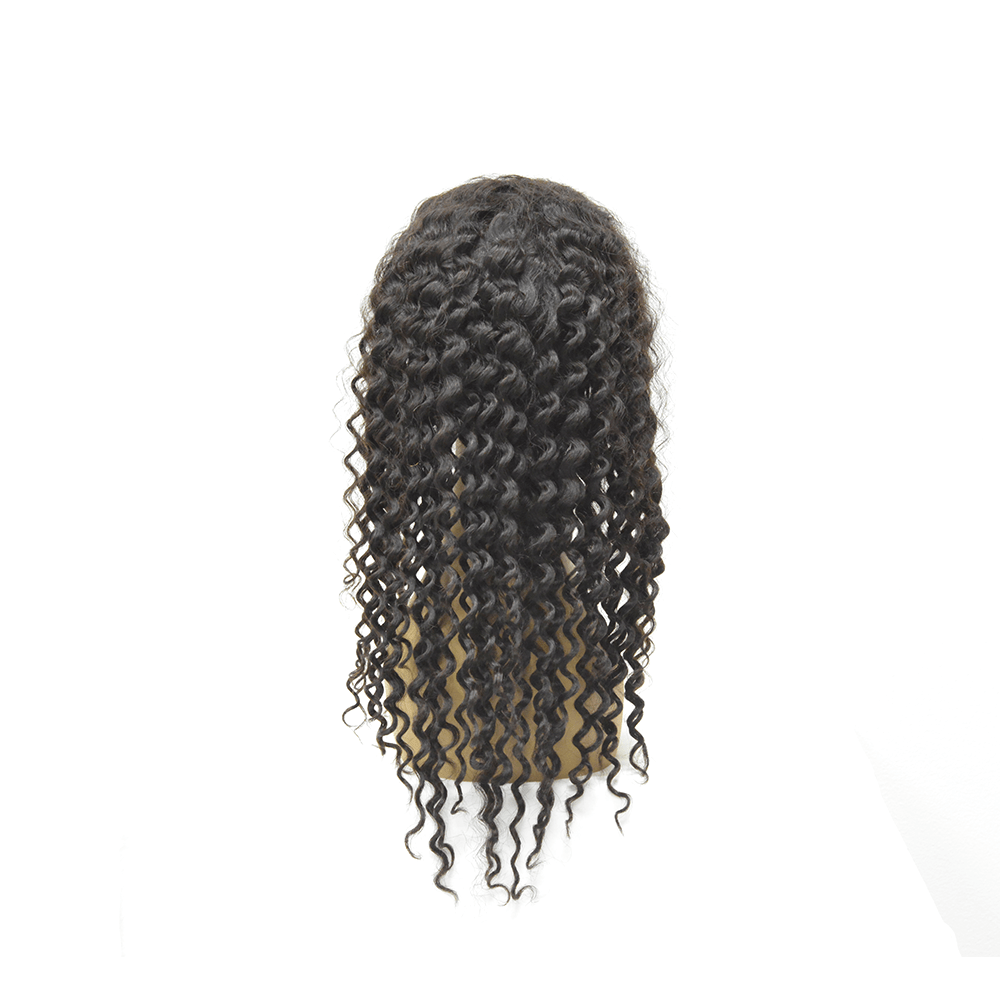 Natural Color Lace Frontal Wig 13'' X 4'' - Deep Wave