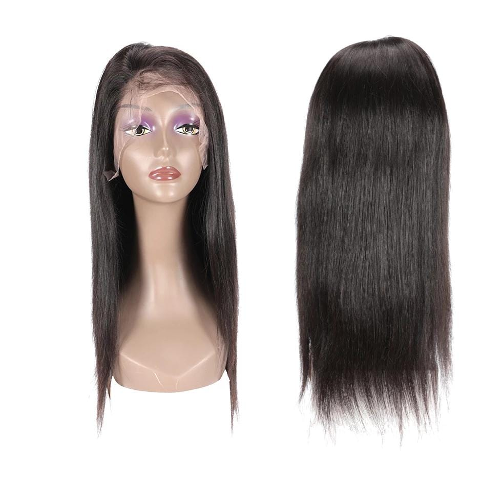 Full Lace Human Wig Straight - Pre-plucked - Fa fashion