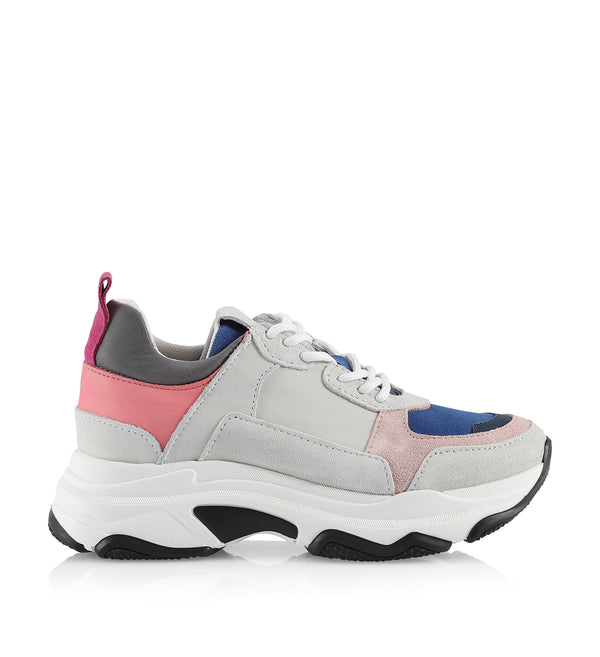 Shoe Biz Rad Lollipop Mix Sneaker Pink 6919 Frese Grey 7724
