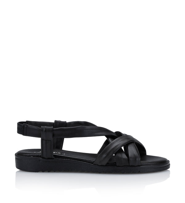 Shoe Biz Stellaro Sandal - Soft Black Black sole