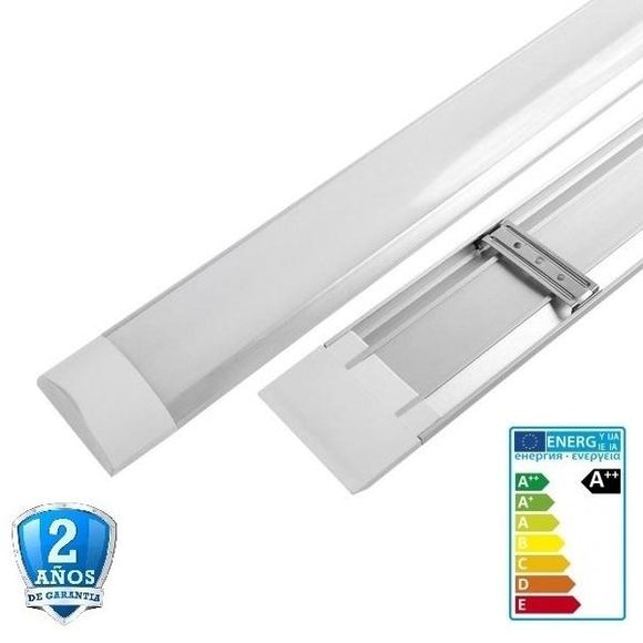 Regleta LED de superficie-10W-30cm-120º-800lm-IP33