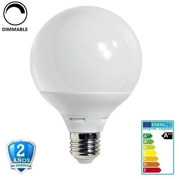 12W G95 1050lm Apertura 270º-Regulable (Dimmable)