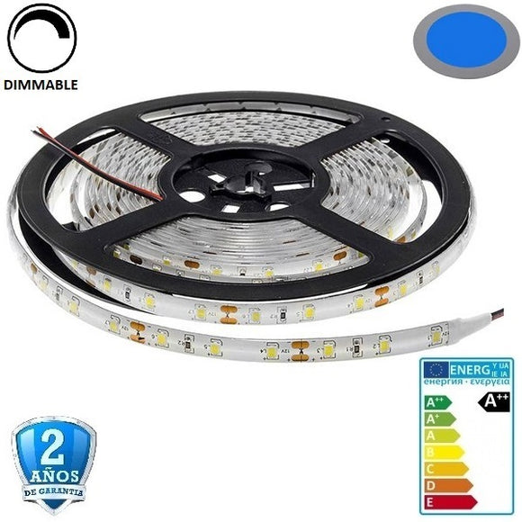 35x28-60smd/m-4,8W-IP65-Azul-5m. - Iluminacion Led  Mall