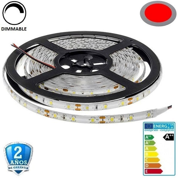 35x28-60smd/m-4,8W-IP65-Rojo-5m. - Iluminacion Led  Mall