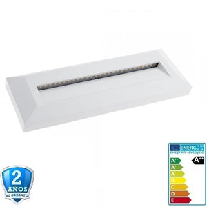 3W 330lm Blanco Rectangular de Superficie 220-240V-IP65