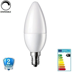 6W 480lm Apertura 240º Regulable (Dimmable)