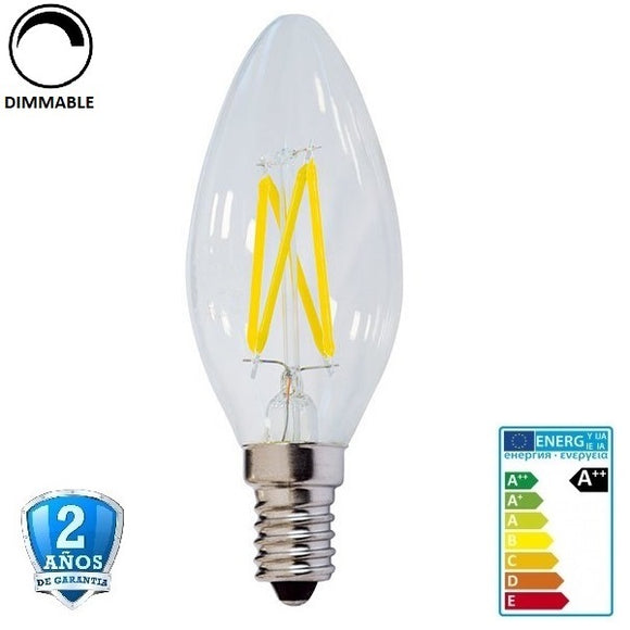 4W 400lm Apertura 300º Regulable (Dimmable)
