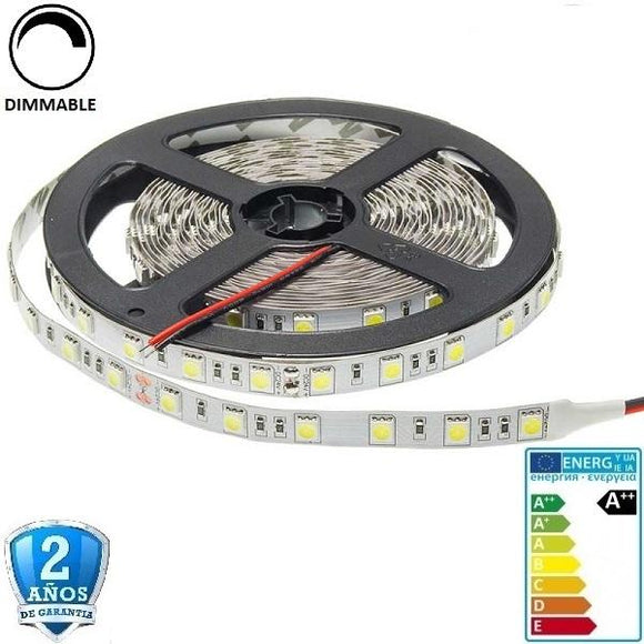 50x50-24V-60smd/m-14,4W-IP33-5m. - Iluminacion Led  Mall