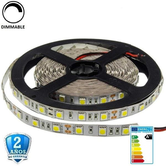 50x50-30smd/m-7,2W-IP33-5m. - Iluminacion Led  Mall