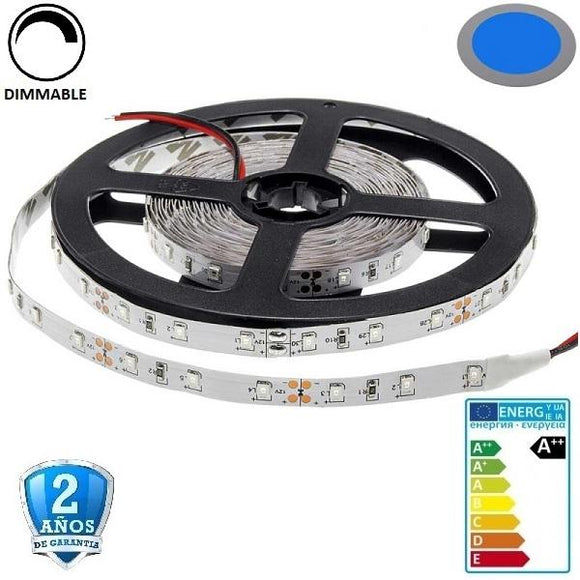 50x50-60smd/m-14,4W-IP33-Azul-5m. - Iluminacion Led  Mall