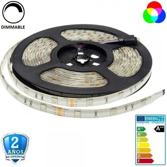 50x50-30smd-7,2W-IP65-5m.-RGB - Iluminacion Led  Mall