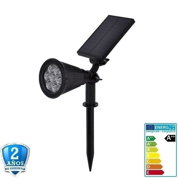 Foco LED Solar 1,5W-6V-IP65