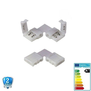 Pin conector Angular 35x28 12-24V - Iluminacion Led  Mall