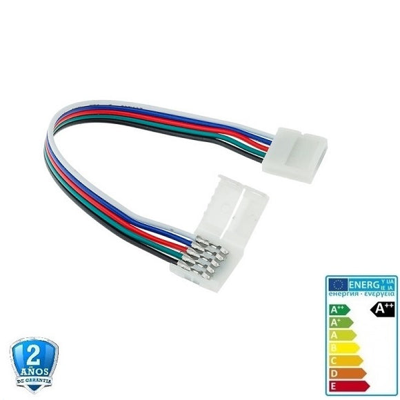 Doble Pin Conector Flexible RGBW /WW  12-24V