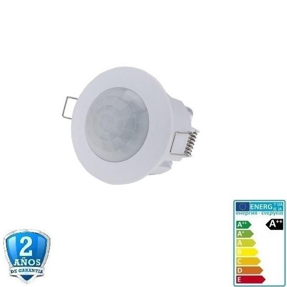 LED PIR Sensor (Detector) 360º  6m  IP20 - Iluminacion Led  Mall