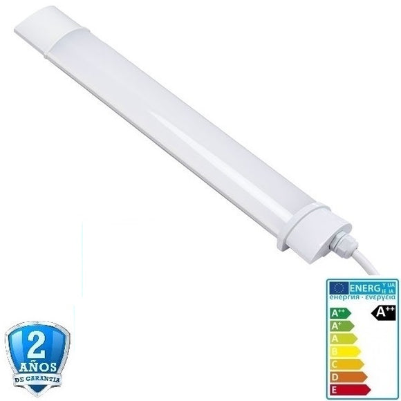 Pantalla estanca con LED integrado 120cm-40W-3320lm-IP65