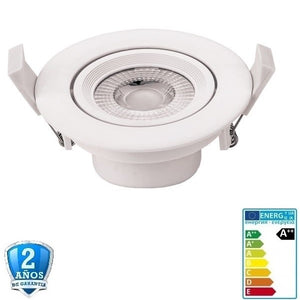10W-750lm Blanco+Orientable