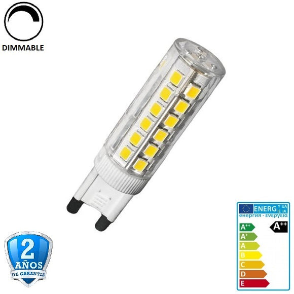 G9 6W 600lm 360º Regulable (dimmable)