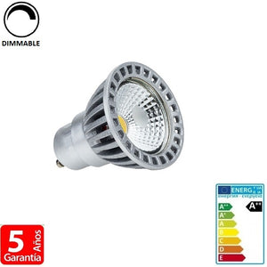 6W COB 480lm Apertura 50º Dimmable (Regulable)
