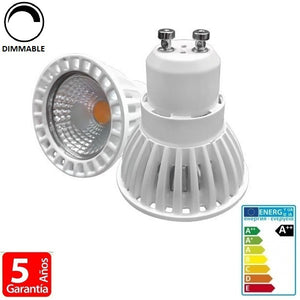 6W COB 480lm Apertura 50º Dimmable (Regulable) - Iluminacion Led  Mall