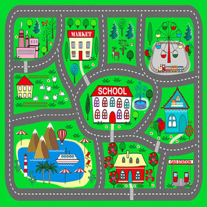 Banner-Childs Play Mat