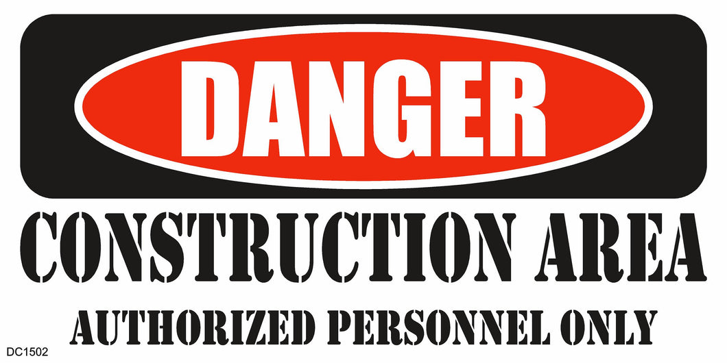 Banner-Danger Construction