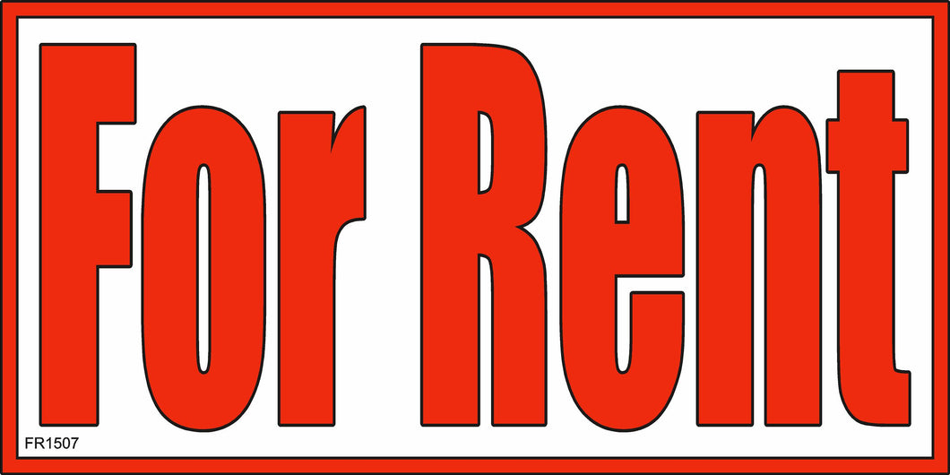 Banner-For rent
